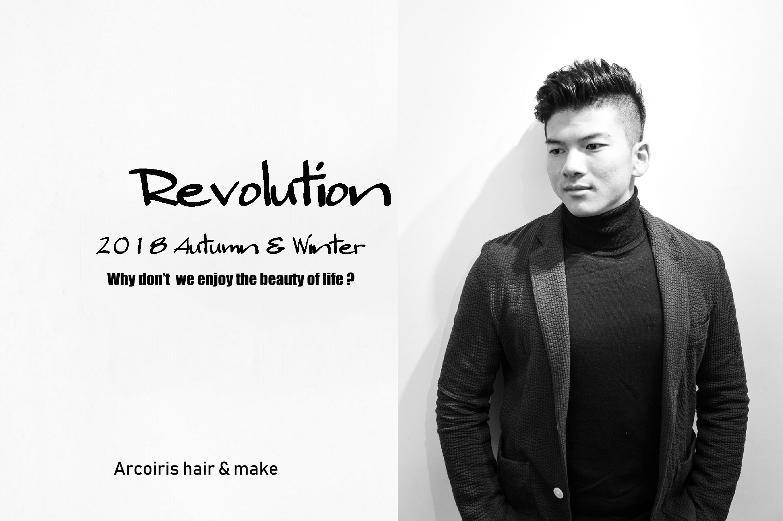 """2018 Autumn & Winter """"Revolution """""""