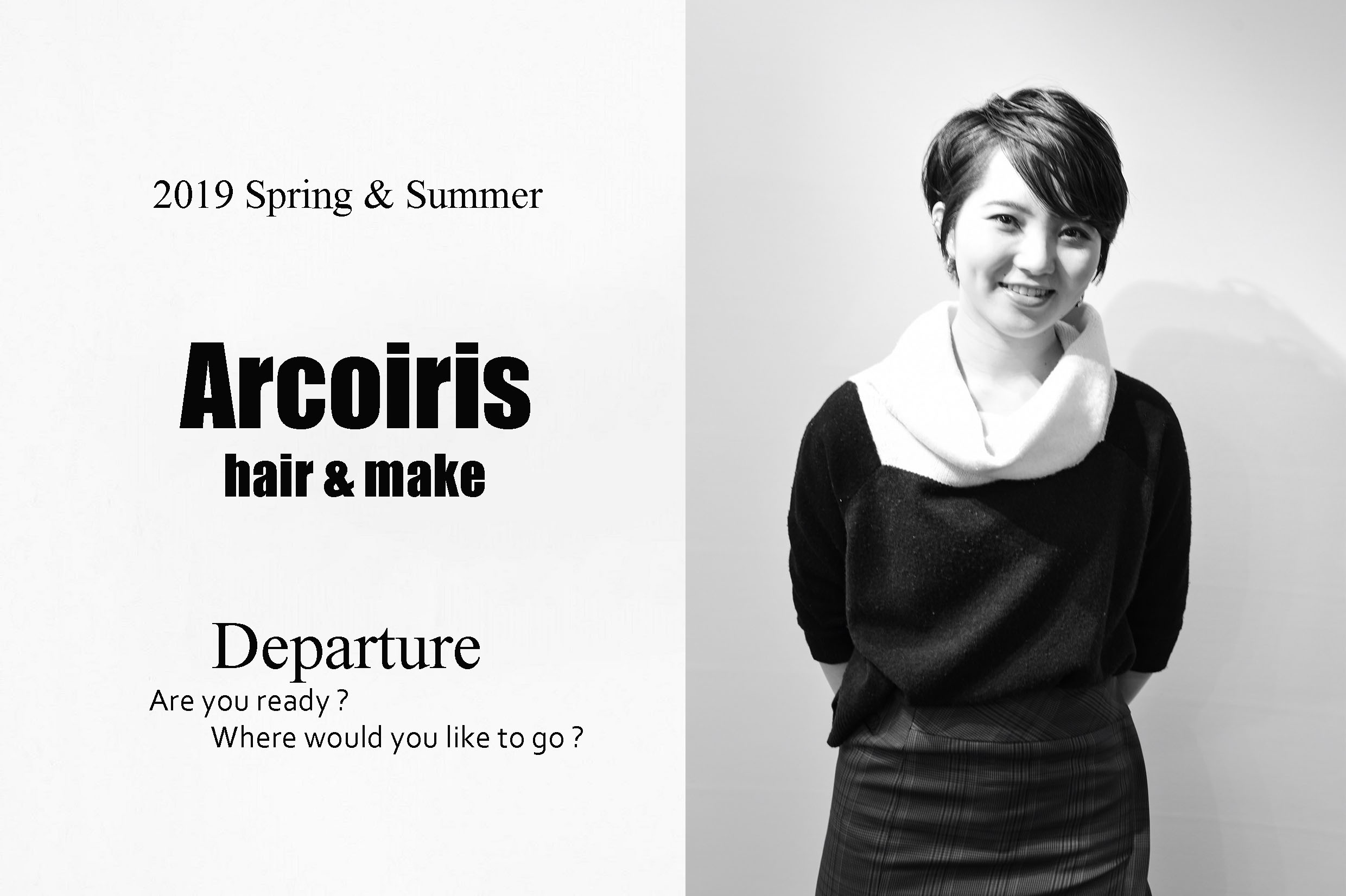 """2019 Spring&Summer """"Departure"""""""