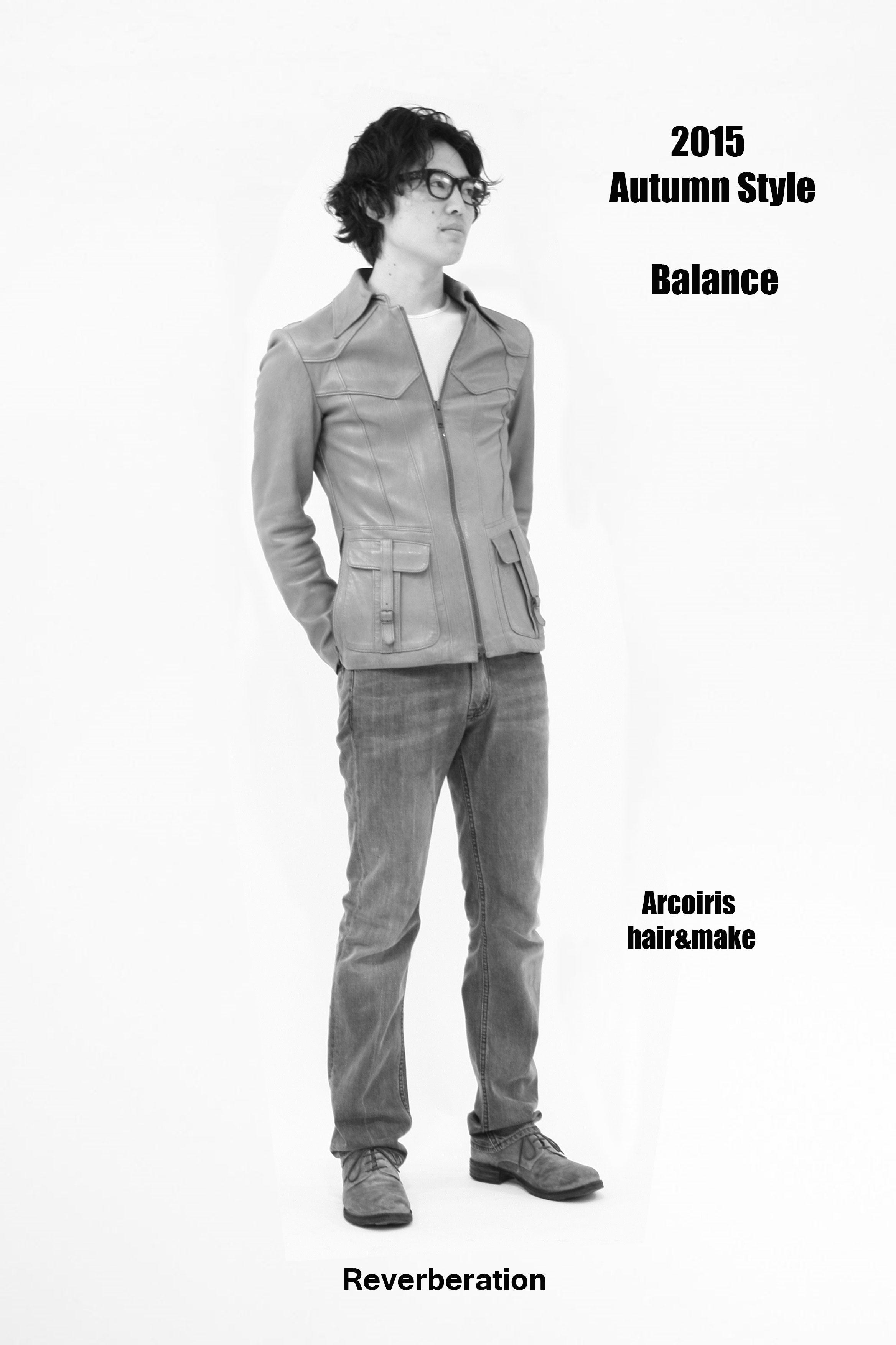 """2015 Autumn Style """"Balance"""""""